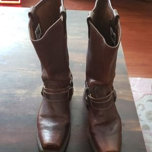 Frye Leather boots size 9